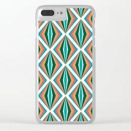 Segmens (Pineapple) Clear iPhone Case