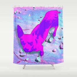 Precious Pup Shower Curtain