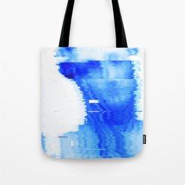 blue statue Tote Bag