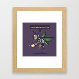 RoboFairy Framed Art Print