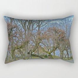 Castle garden Laupheim Rectangular Pillow