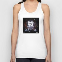 planet of the apes Tank Tops featuring Meteoric Apes by Tom Bryce