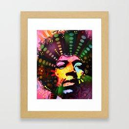 ColorFreakOut Framed Art Print