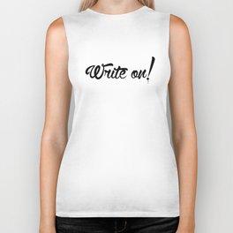 Write On! Biker Tank