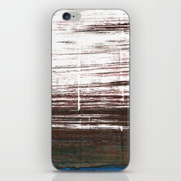 Bistre abstract watercolor iPhone Skin