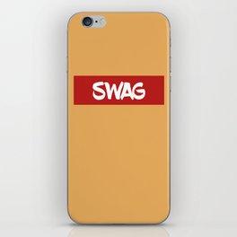 SWAG | Digital Art iPhone Skin