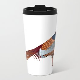 Pheasant Metal Travel Mug