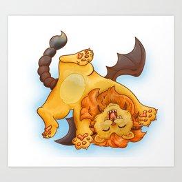 Baby Manticore Art Print