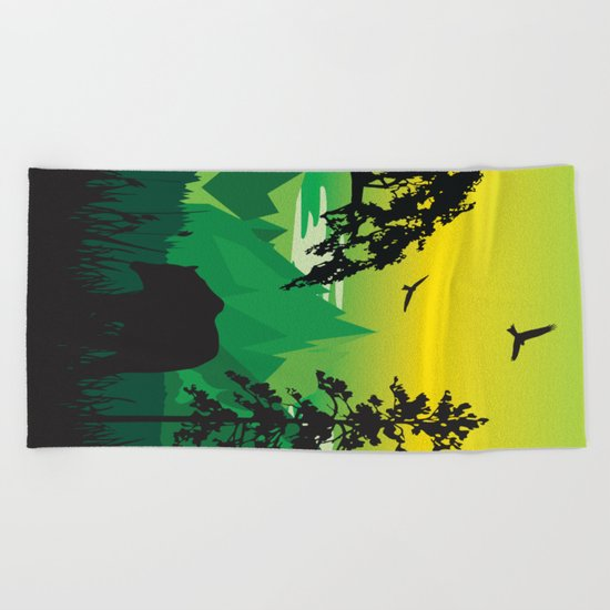 My Nature Collection No. 43 Beach Towel