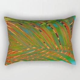 TROPICAL LEAVES POP-ART no4 Rectangular Pillow