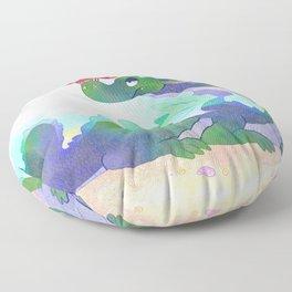 Crabby Dragon Floor Pillow