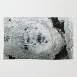 face texture white Rug
