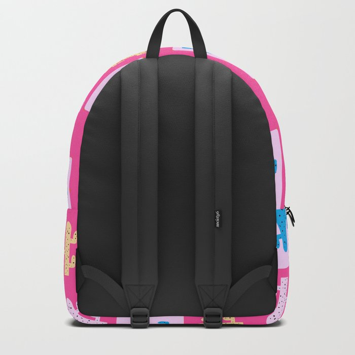 Cacti in pink Backpack