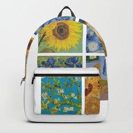 Van Gogh Collage #1 Art Gift Backpack