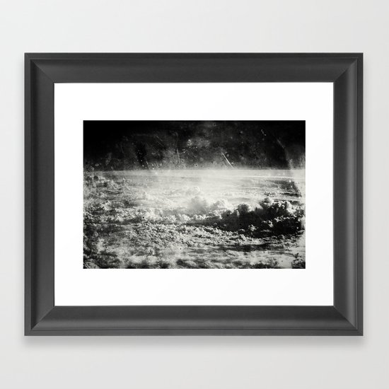 Somewhere Over The Clouds (I Framed Art Print