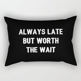 The Guilty Person V Rectangular Pillow