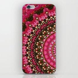 Pink Flower in Greece 2 iPhone Skin