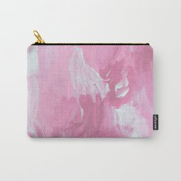 Gardenia Pink Abstract Carry-All Pouch