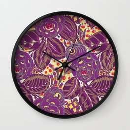Wild and Earthly Wall Clock