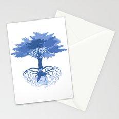 Heart Tree - Blue Stationery Cards