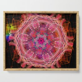 Magic kaleidoscope wheel Serving Tray