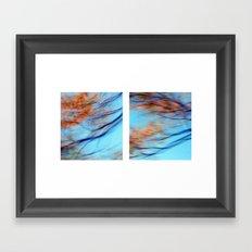 Autumn Impressions #2 - Diptych Framed Art Print