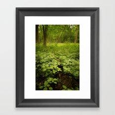 the soil underneath Framed Art Print