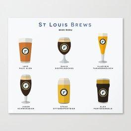 St. Louis Brews Canvas Print