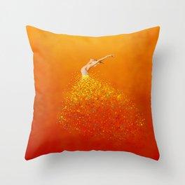 Follow the wind Throw Pillow