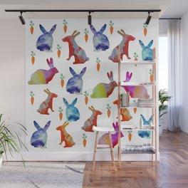 Rabbits Joy Wall Mural