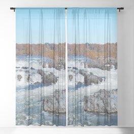 Great Falls Virginia Sheer Curtain