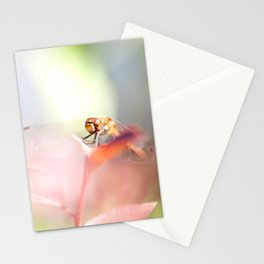 red dragonfly Stationery Cards