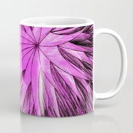 Abstract Flower-Purple Coffee Mug