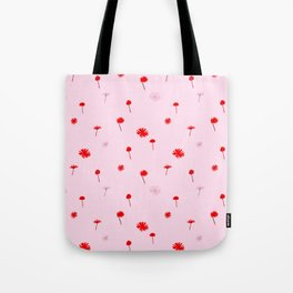 Daisies and Clover Tote Bag