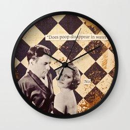Things That Make Ya Go Hmmmm Wall Clock