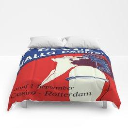 Vintage poster - Yardaz Wereld Revue Comforters