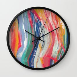 Playground Pickets Wall Clock