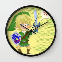 Zelda- Hyrule fool Wall Clock