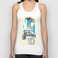 kim sy ok Tank Tops featuring OK by collageriittard