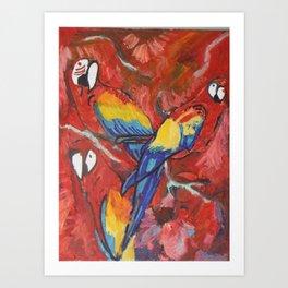 Parrot's Art Print