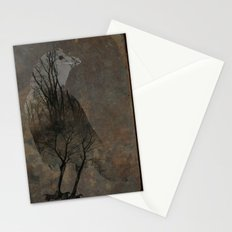 Inside Crow Stationery Cards