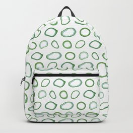 Onion rings pattern Backpack