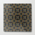 Gold and Silver Interwoven Pattern by boutiquebijou