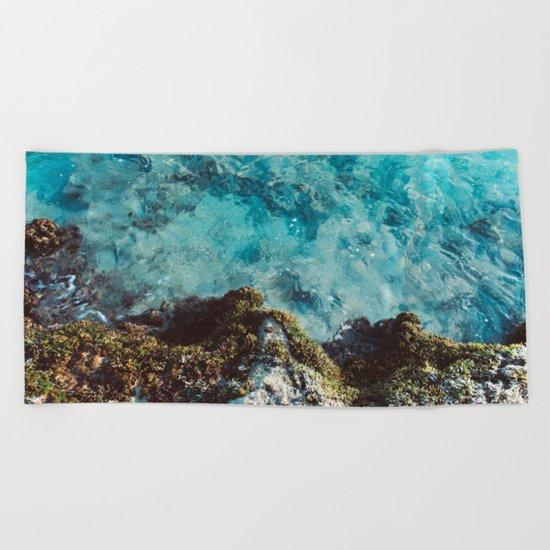 Blue Coast Beach Towel