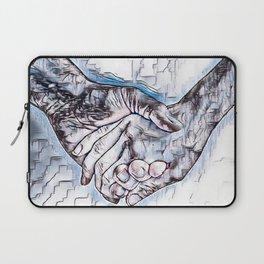 GALATHI Valentine Holding Hands Laptop Sleeve