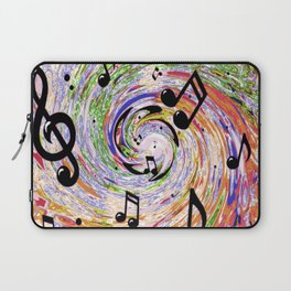 Music Notes Laptop Sleeve
