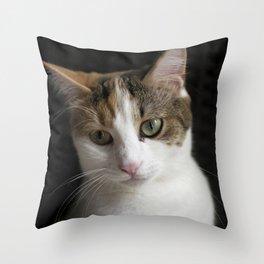 Molly, portrait n Throw Pillow