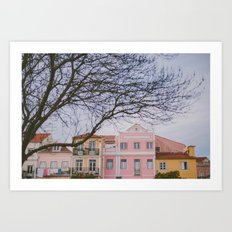 Travel To Lisbon II Art Print