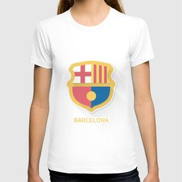 Barcelona Smooth Logo T-shirt