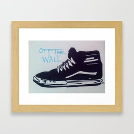 Off The Wall Framed Art Print